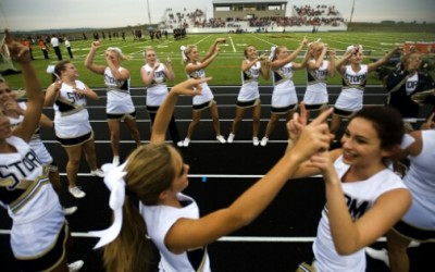 Cheerleading among safest high school sports, say Colorado School of Public Health experts